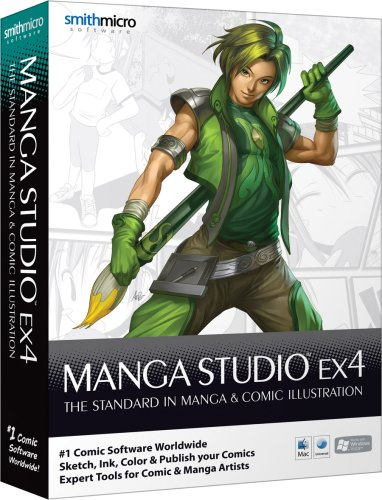 Manga Studio EX 4