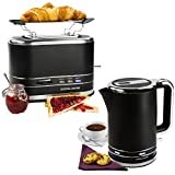 Andrew James 3000W Fast Boil Kettle And 2 Slice Toaster