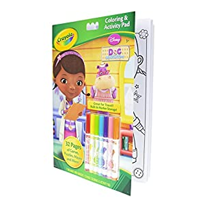 Doc McStuffins Doctors Coat with Accessories & Crayola Coloring Book
