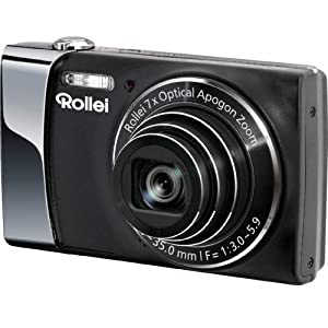 Rollei Powerflex 470 Digitalkamera (14 Megapixel, 7-fach opt. Zoom, opt. Bildstabilisator, 7,62 cm (3 Zoll) Display, HD-Video-Auflösung) schwarz