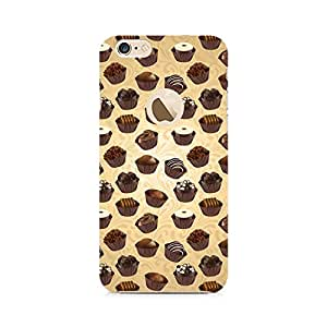 RAYITE Chocolate Cupcake Premium Printed Mobile Back Case For Apple iPhone 6/6s with hole