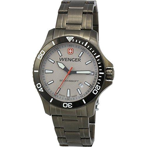 Wenger-Swiss-Army-Sea-Force-Grey-Dial-Gunmetal-Mens-Watch-010641115