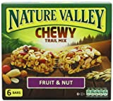 Nature Valley Fruit and Nut Trail Mix 6 Bars (pack Of 4)