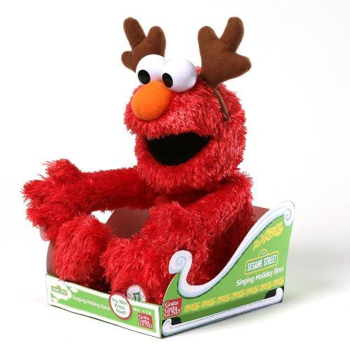 Gund Sesame Street Singing Holiday Elmo Animated Toy