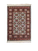 Navaei & Co. Alfombra Kashmir Azul/Multicolor 94 x 63 cm