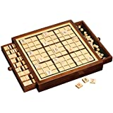 Deluxe Wooden Sudoku Board Game - High Quality Wooden Table Game