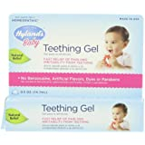 Hyland's Baby Teething Gel, Natural Homeopathic Baby Teething Pain and Irritability Relief, 0.5 Ounce