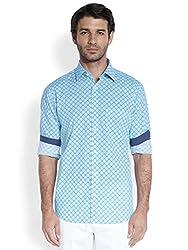 ColorPlus Medium Blue Men's Shirt