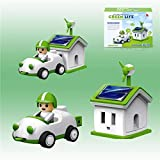 Green Life Solar Powered Rechargeable Kit - Science Education Toys For Kids Children