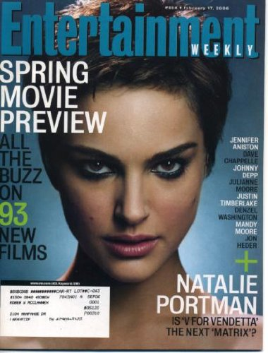 Natalie Portman Entertainment Weekly. Entertainment Weekly February