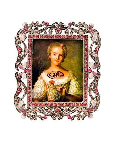 Decorative 3 x 3.5 Picture Frame, Pink