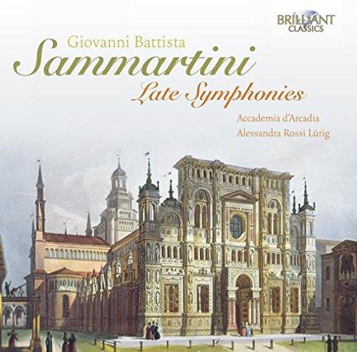 Arcadia - Sammartini: Late Symphonies - Zortam Music