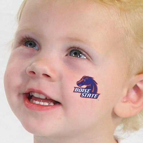 NCAA Boise State Broncos 4-Pack Temporary Tattoos