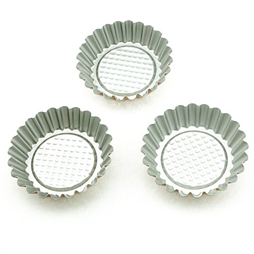 Wenwins non stick pie pan mini tart pans 6pack