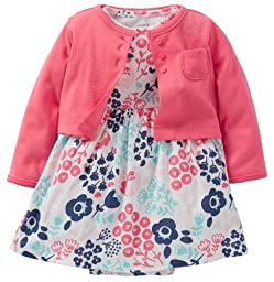 Carter\'s Baby Girls\' 2 Piece Dress Set (Baby) - Pink - 3 Months