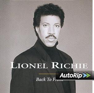 Back to Front Lionel Richie Album