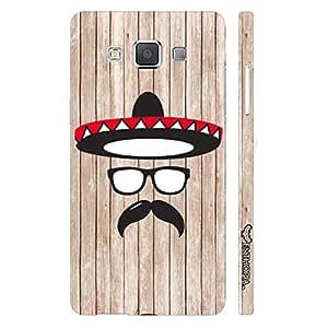 Samsung Galaxy A7 Mexico Man designer mobile hard shell case by Enthopia