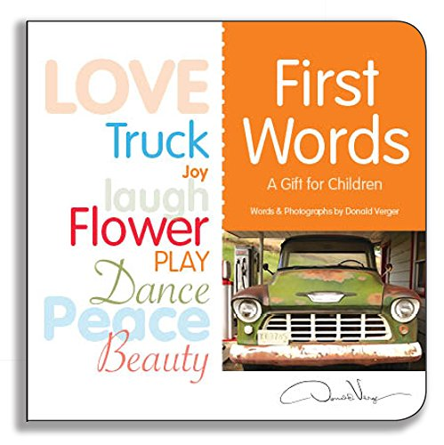 First Words: A Gift For Children - Board Book (Kids New York Journal compare prices)