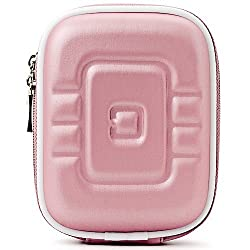 Vangoddytm Pink Vg Eva Travel Carrying Camera Case With Carbineer