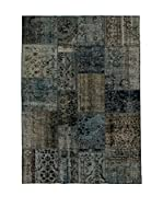 Design Community By Loomier Alfombra Anatolian Patchwork (Gris/Azul)
