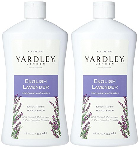 Yardley London Liquid Hand Soap - English Lavender - 16 oz - 2 pk