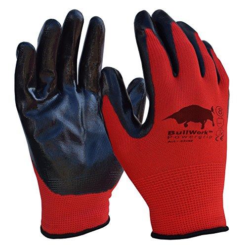 set-de-ahorro-de-5-unidades-original-bullwork-powergrip-guantes-de-trabajo-talla-8-recubrimiento-de-