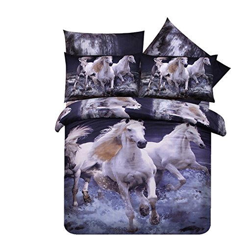 Twin Horse Comforter front-582352