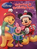 Disney Christmas Coloring & Activity Book ~ Disney's Winnie the Pooh & Mickey Mouse