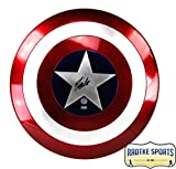 Stan Lee Autographed/Signed Marvel Legends Captain America Premium Full Size Shield