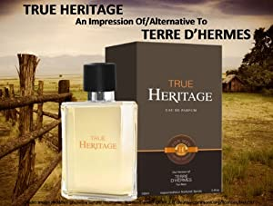 True Heritage Cologne EDP 3.4 oz Spray Our Impression Version of Terre D'Hermes