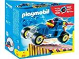 Playmobil 4181 Playmobil Pilote Voiture Transformable Bleue