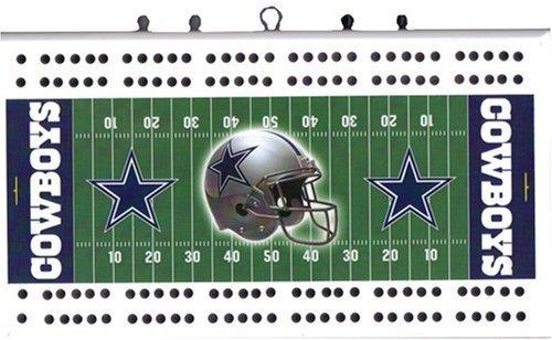 Dallas Cowboys NFL Football Field Cribbage Board by Rico Tag Express günstig