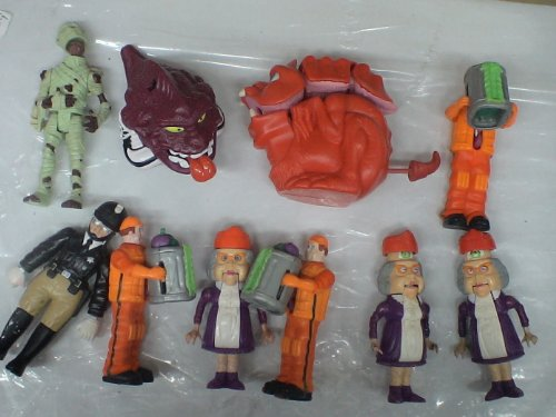 Picture of Mattel The Real Ghostbusters Lot of 10 Loose Action Figures (B004AKM6I0) (Mattel Action Figures)
