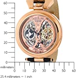 Stuhrling Original Men's 127A.334553 Emperor's Grandeur Automatic Skeleton Rosetone Dial Watch