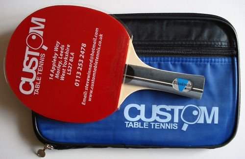 Blutenkirsche Elite Table Tennis Bat & Case