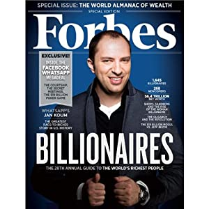 Forbes, March 10, 2014 Periodical