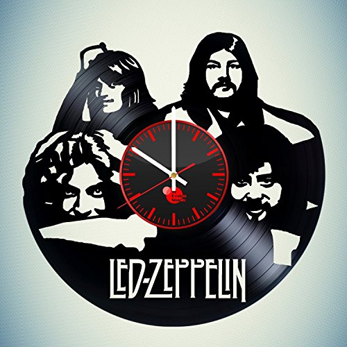 Music-Led-Zeppelin-HANDMADE-Vinyl-Record-Wall-Clock-Get-unique-bedroom-wall-decor-Gift-ideas-for-his-and-her-Rock-Music-Band-Unique-Art-Leave-us-a-feedback-and-win-your-custom-clock