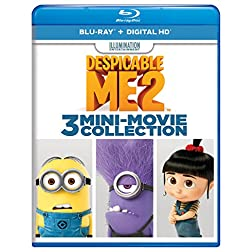 Despicable Me 2: 3 Mini-Movie Collection [Blu-ray]