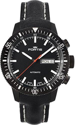Fortis B-42 Monolith 647.18.31.L Reloj Automático para hombres Recubierto con PVD