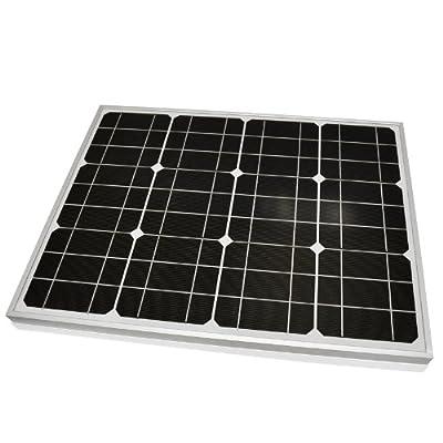 LiteFuze® 30W Mono-crystalline Solar Panel 30 Watt - High-Efficiency - Durable Heavy Duty Long Lasting Frame by LiteFuze
