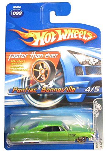 Hot wheels pontiac Bonneville faster than ever 4/5 red lines 099 - 1
