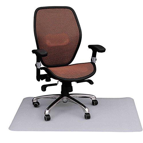 Homcom alfombra estera protector de suelo para silla de - Protector de suelo para sillas ...
