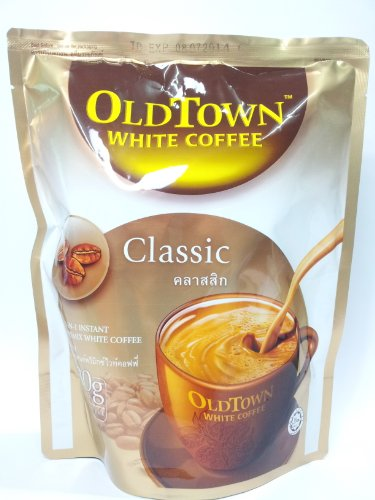 Old Town Instant 3 In 1 Premix White Coffee Powder Classic 300G. (30G.X10 Sachets) - Pack Of 3