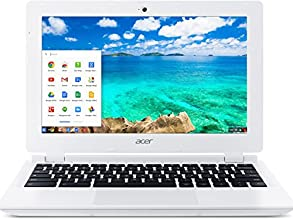 Acer Chromebook, Intel Celeron Processor N2830, 2 GB DDR3 Memory, 16 GB SSD Laptop, Moonstone White(Bilingual French Keyboard)