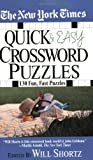 The New York Times Quick & Easy Crossword Puzzles