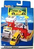 Hot Wheels Rescue Centre Portable Playset + Ambulance