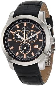 Rotary GS90018-04 Mens Les Originales Black Chronograph Watch