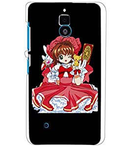 NOKIA LUMIA 530 BABY GIRL Back Cover by PRINTSWAG