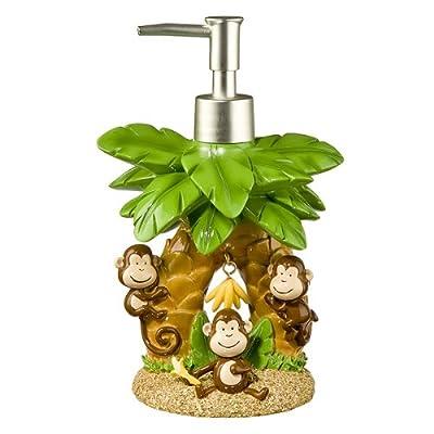monkey bathroom accessories mainstays monkey 4 bath accessories set walmart shop popular