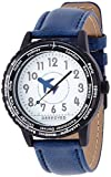Amazon.co.jp[フィールドワーク]Fieldwork 腕時計 ブーン アナログ表示 ワールドタイム ブルー QKD031-4 メンズ